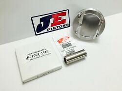 Je 4.310 8.31 Flat Top Pistons For Chevy Bbc 6.385 Rod 3.766 Stroke