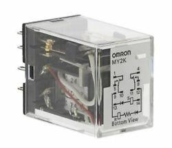 DPDT Plug In Latching Relay 3 A 24V ac For Use In General Purpose Applications