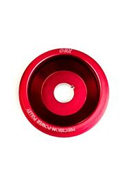 Obx Red Underdrive Crank Pulley For 1990-1994 Madza Protege Lx 1.8l Dohc