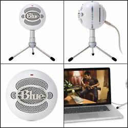 Snowball iCE Condenser Microphone Instant Polish Perfect for Recording Vocals US