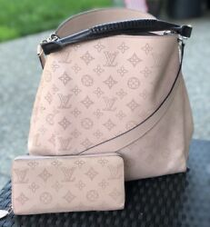 SET LOUIS VUITTON Mahina Babylone PM Zippy Wallet Mahina Crossbody Handbag 2Way