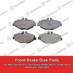 FRONT Brake Pads For Mercedes-Benz E-Class W211 S211 2002-2009 BOSCH