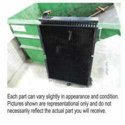 Used Hydraulic Oil Cooler Fits Case Ih 5088 7088 6088 87559913