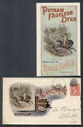 1901 Monroe Drug Co. Colorful Advertising Cover 2andcent Tied Unionville Mo. W/encl.