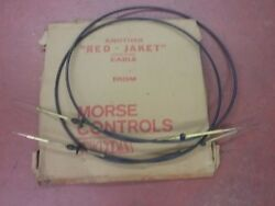 Control cables for an older Johnson or Evinrude outboard motor 6 ft