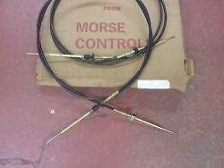 Control cables for an older Johnson or Evinrude outboard motor 8 ft
