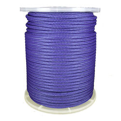 1/2 X 656and039 Nylon Double Braid 7700 Lb Bs Boating Blue