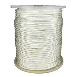 5/8 X 656and039 Nylon Double Braid 11220 Lb Bs Boating White