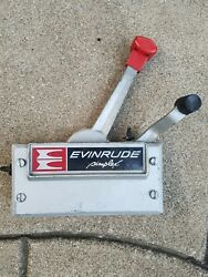 Johnson Evinrude Outboard Simplex Control Box. No cables.. BEAUTIFUL CONDITION