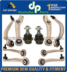Bentley Continental Gt Gtc Front Control Arms Arms Ball Joints Suspension Kit 10