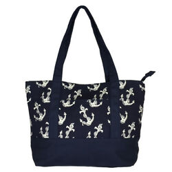 Allgala 17quot; Medium Size Canvas Tote School Handbag Various Fashion Prints $19.50