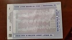Ho Microscale Decals 87-869 Amtrak Superliner Car Name Use With 87-867 And 87-868