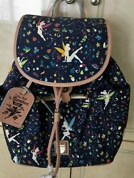 Disney Dooney & Bourke Tinkerbell Backpack NWT -ships from USA