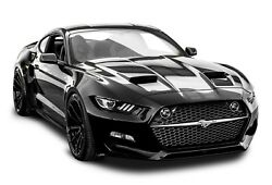 2018 FORD MUSTANG BLACK POSTER 24 X 36 INCH LOOKS AWESOME
