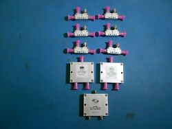 Meca Power Divider/combiners And Couplers Lot Of 9
