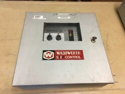 WADSWORTH STEP 50A GREENHOUSE CLIMATE CONTROLLER & WEATHER CONTROL STATION
