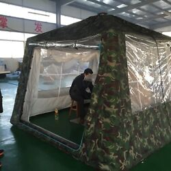 Inflatable Family Camping Recreation Screen Porch Patio Mosquito Netting Tent