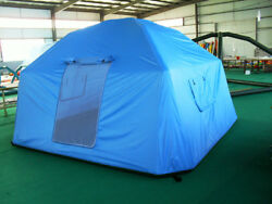 Air Tight Waterproof Inflatable Family Camping Recreation Tent W/ Pump Brand New