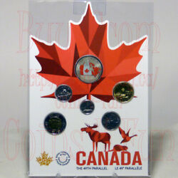 1818-2018 From Far And Wide - 6-coin Set - 21glow-in-the-dark 50c25c10c5c