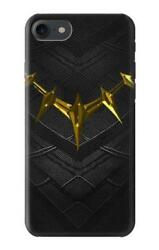 S3246 Black Panther Gold Necklace Case for IPHONE Samsung Smartphone ETC
