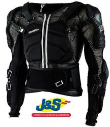 Oand039neal Underdog Mx Armour Black Motocross Armoured Shirt Mesh Moto-x Off-road