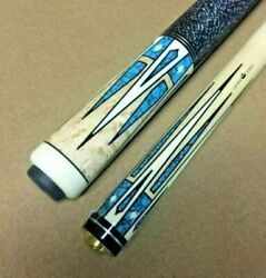 Pechauer Pro Series P19-hc Crown Jewels Pool Cue W/ Free Case And Free Shipping
