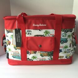 Tommy Bahama Insulated Tote Cooler Bag Picnic Summer California Beach Surf Cars