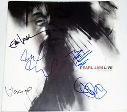 Pearl Jam Hand Signed Autographed Live On 10 Legs Album By All 5 W/proof+c.o.a.