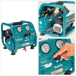 Air Compressor Portable Electric Oil Free Connectors Hot Dog Steel Single Stage