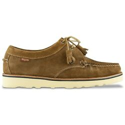 G.h. Bass Weejuns Shoes - Wedge Tie Reverso Shoe -brown Suede