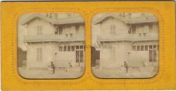 Belle Remains Photo Stereo Diorama Tissue Vintage Albumin Ca 1865