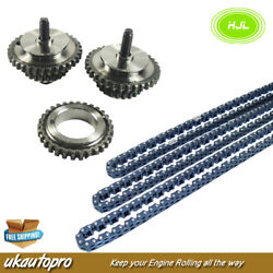 Timing Chain+gears For Opel Vauxhall 2.8 V6 A28ner Z28nel Z28net Z32see