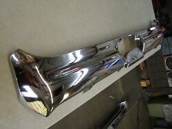 Nos Oem Ford 1964 Galaxie 500 Rear Bumper Chrome Trim Xl Ltd