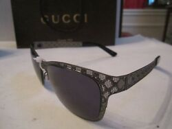 NEW GUCCI SUNGLASSES - GG4267 KJ1 135 - GC LOGO DESIGN - IN THE CASE
