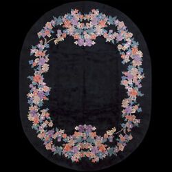 Antique Chinese Art Deco Rug 9and0392 X 11and0398