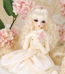NEW VOLKS Super Dollfie Midi SDM Child angel Una Doll Figure Village angel 14th