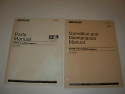 Caterpillar A19b A26b Augar Parts And Operation/maintenance Manuals , S/n's Listed