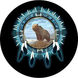 Dream Catcher Bear Spare Tire Cover All Sizes Available-back Up Camera Optional