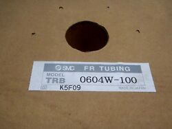 Smc Trb 0604w-100 6x4mm 6mm Od White Flame Resistant Tubing Approx 100' Foot