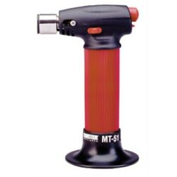 Master Appliance Mt-51 Micro Torch Hand Held Refillable Butane Torch With Adj...