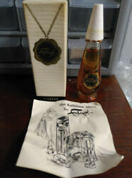 Vintage Faberge Tigress Bath Perfume New Old Stock W Box And Advertising Insert