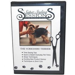 Grooming Yorkshire Terrier DVD Super Styling Sessions with Sue Zecco Yorkie