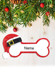 Personalized Christmas Tree Ornament Holiday Gift for Dog and Puppy