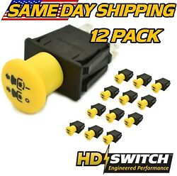 12 Pack Clutch Pto Switch Replaces John Deere Tca17834 - Free 10 Amp Upgrade