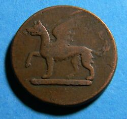 Great Britain Circa 1690 Whitehaven Colliery Carrierand039s Token 0387