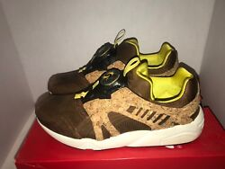 Pumas Leather Disc Cage Lux Dachshund Cork Size 11 11.5