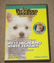 Everything You Should Know - WEST HIGHLAND WHITE TERRIER (DVD 2005)