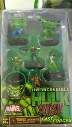 The Incredible Hulk Smash Fast Forces Pack Marvel Heroclix