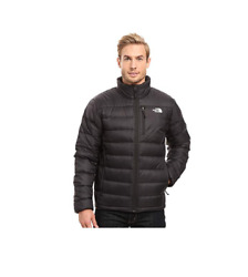 The North Face Men's Aconcagua Jacket in TNF Black 550 Fill Down Sz S-2XL NEW