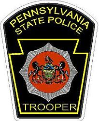 Pennsylvania State Police Reflective Or Matte Vinyl Decal Sticker Trooper Police
